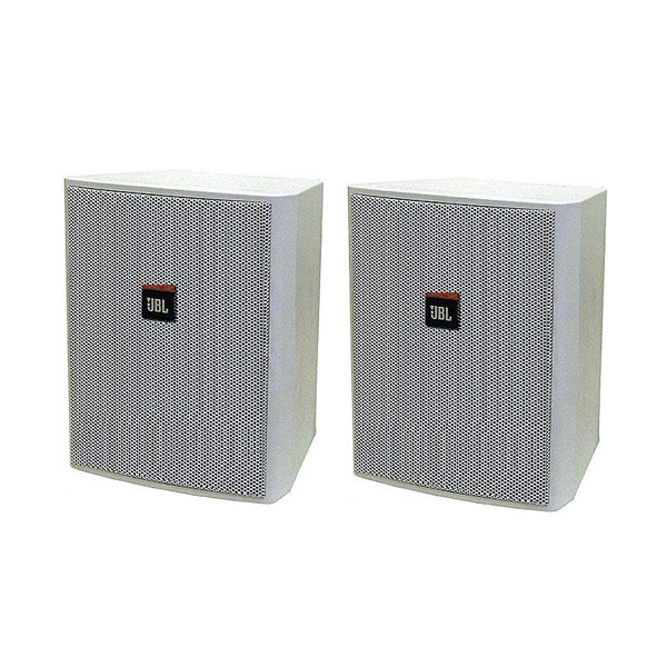 JBL(ジェービーエル) / Control 25AV-WH (ペア)  [正規輸入品] - 全天候型スピーカー(1ペア販売) 壁掛けタイプ -