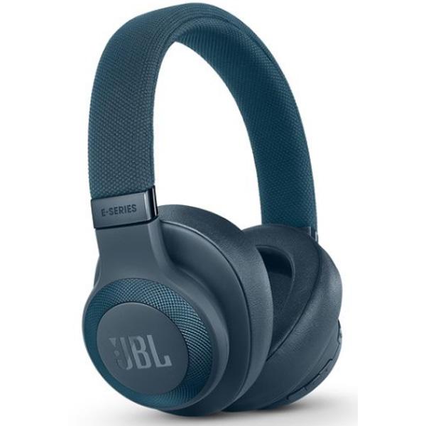JBL(ジェービーエル) / E65BTNC (BLUE) - ノイズキャンセリング機能付 ワイヤレスヘッドホン -