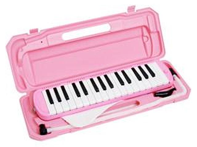 メロディーピアノ 鍵盤ハーモニカ- KC / P3001-32K/PK (ピンク)