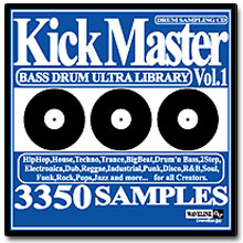 WAVELINEサンプリングCD / Kick Master Vol.1/BASS DRUM ULTRA LIBRARY [CD]