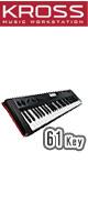 【限定1点】Korg(コルグ) / KROSS-61 (61鍵盤) - ミュージック・ワークステーション・シンセサイザー - 【アウトレット品】
