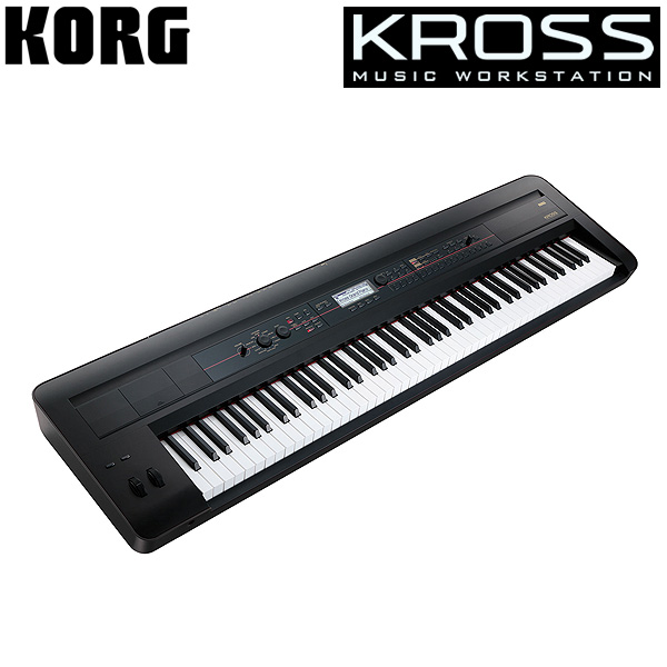 Korg(コルグ) / KROSS-88 BK (88鍵盤) - ミュージック・ワークステーション・シンセサイザー