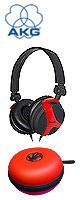 AKG(�A�[�J�[�Q�[) / AKG K 518 LE GIFT SET (DIABLO RED + HEADPHONE CASE)