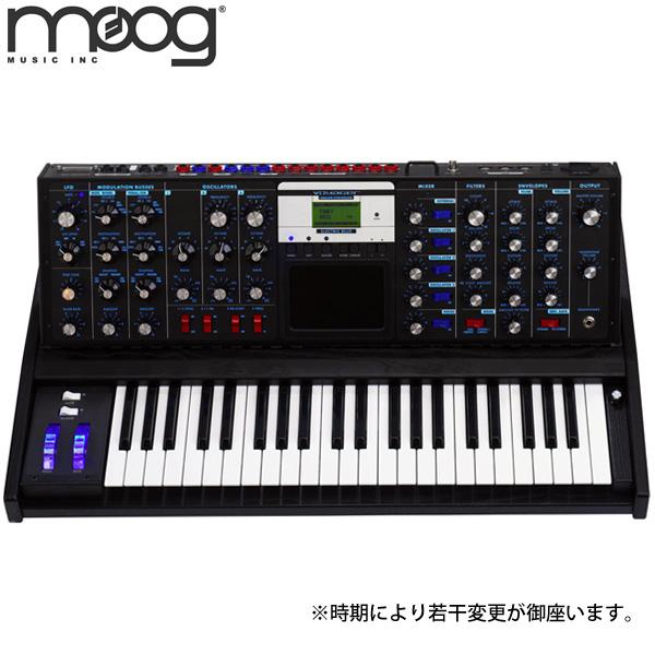 【限定1台】Moog(モーグ) / minimoog Voyager Electric Blue Ver.3 - モノフォニック・アナログ・シンセサイザー - 【店頭展示品】『セール』『シンセサイザー』