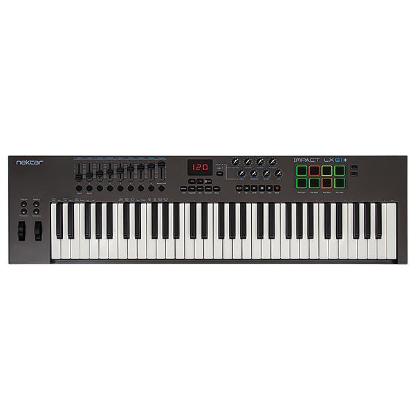 Nektar Technology(ネクター テクノロジー) /  Impact LX61+ - MIDIキーボード・コントローラー -