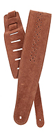 PLANET WAVES(�ץ�ͥåȥ������֥� ) / Vented Leather Strap Collection 25PRF04 CAMEL SUEDE ROSETE - ���������ȥ�å� -�ڹ��������ʡ�