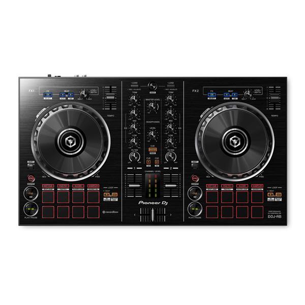 Pioneer(パイオニア) /  DDJ-RB 【REKORDBOX DJ 無償】- PCDJコントローラー - ■限定セット内容■→ 【・教則DVD ・金メッキ高級接続ケーブル 3M 1ペア ・ミックスCD作成KIT ・10分で理解DJ教則動画】