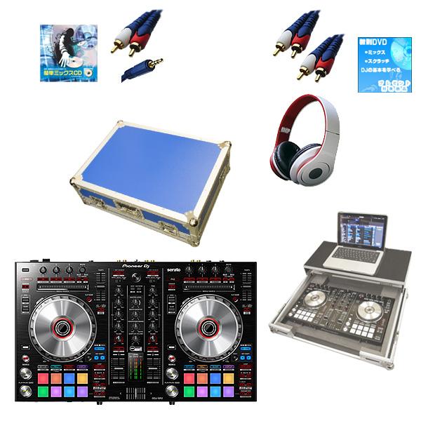 Pioneer(パイオニア) / DDJ-SR2  フライトケース(ブルー)【ウィンターセット】 『セール』『DJ機材』