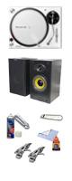 【サマーセット】PLX-500-W リスニングセット ■限定セット内容■→ 【・音質抜群タンテ Pioneer DJ PLX-500 徹底解剖(※サービス品ではありません) ・クリーニングセット ・OAタップ ・MS-210J モニター・スピーカー ・1分理解rekordbox DJクイックガイド 】