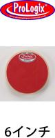 """ProLogix(プロロジックス) / 6"""" Mini Red Storm Pad - ドラムトレーニングパッド -"""