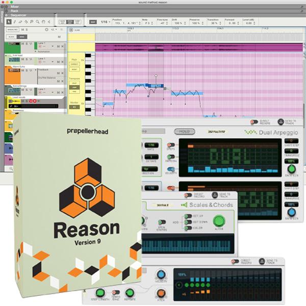 Propellerhead(プロペラヘッド) / REASON 9 -  音楽制作ソフト-