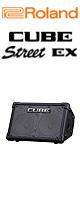Roland(ローランド) / CUBE STREET EX (CUBE-STEX)  - 電池駆動対応・ギター/パフォーマンス用アンプ - ■限定セット内容■→ 【・ケーブル付きマイク 】