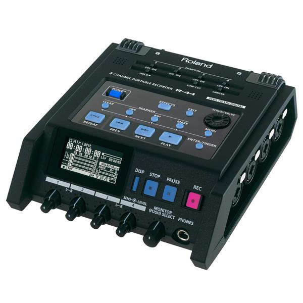 Roland(ローランド) / R-44-R - 4チャンネル・フィールド・レコーダー ■限定セット内容■→ 【・エネル-プ単3形 4個】