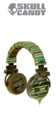 Skullcandy(�X�J���L�����f�B) / G.I. (Brown Stripe)