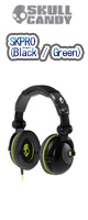 Skullcandy(�X�J���L�����f�B) / SKPRO (Black / Green)
