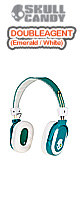 Skullcandy(�X�J���L�����f�B) / DOUBLE AGENT (Emerald / White)
