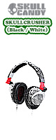 Skullcandy(�X�J���L�����f�B) / SKULLCRUSHER (Black / White)