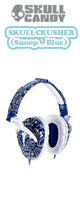 Skullcandy(�X�J���L�����f�B) / SkullCrusher (Blue) �ySNOOP DOGG MODEL�z