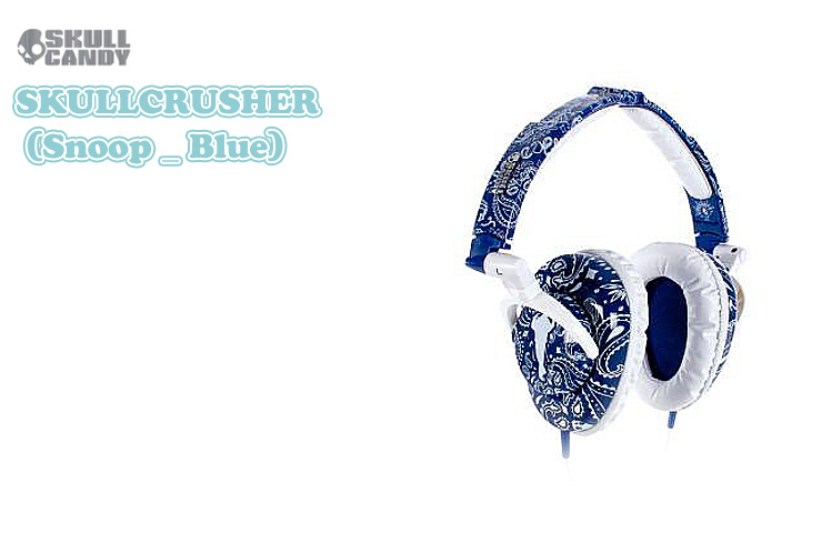 Skullcandy(�����륭���ǥ�) / SkullCrusher (Blue) ��SNOOP DOGG MODEL��