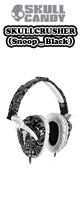 Skullcandy(�X�J���L�����f�B) / SkullCrusher (Black) �ySNOOP DOGG MODEL�z