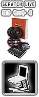 "SL3 セット 4 / SERATO SCRATCH LIVE SL3  【2年保証・電話サポート・日本語取説】【次回9月末以降】 ■限定セット内容■→ 【・ミックスCD作成KIT ・""世界NO.1""USBケーブル ・SL3アダプター付属 ・PCスタンド&トレイ 】"