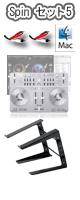 �ڴ�ָ���!!���̲���!!�� Vestax(�٥����å���) / Spin USB MIDI��AUDIO CONTROLLER�����å�5 ��djay3.0�Х�ɥ�ۡ������ꥻ�å����Ƣ������ڡ���§DVD�������å������³�����֥� 3M 1�ڥ�����PC������ɡ������åƥ��ޥ˥奢�롡�����쥯�ȥ�ϥ������ͥ�����DJɬ��CD �ס�5��ɡ�