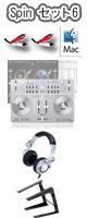 �ڴ�ָ���!!���̲���!!�� Vestax(�٥����å���) / Spin USB MIDI��AUDIO CONTROLLER�����å�5 ��djay3.0�Х�ɥ�ۡ������ꥻ�å����Ƣ������ڡ�PC������ɡ������å������³�����֥� 3M 1�ڥ�������§DVD����Technics�ǹ��إåɥۥ��ѹ�OK�������쥯�ȥ�ϥ������ͥ��������åƥ��ޥ˥奢�롡��DJɬ��CD �ס�1��ɡ�