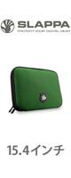 Slappa(スラッパ) / 15.4-Inch Laptop Sleeve(Green Manalishi) - SL-NSV-130 - 15.4インチラップトップケース