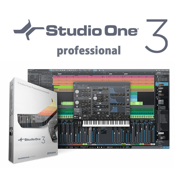 PreSonus(プレソナス) / Studio One 3 Professional - 日本語版(USB edition) -