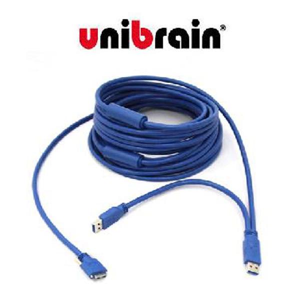 Unibrain(ユニブレイン) / USB 3.0 ケーブル (長さ 10m) マイクロB端子ケーブル