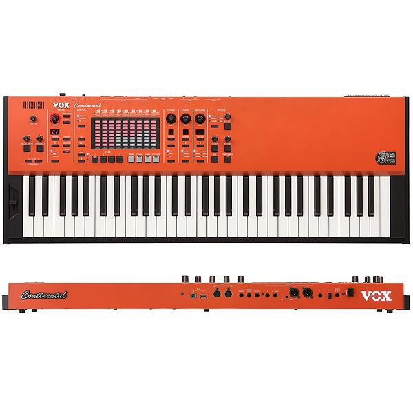 VOX(ヴォックス) / CONTINENTAL-61 【エクスプレッション・ペダル(V861)、キーボード・スタンド付属】 - 61鍵ステージ・キーボード- 2大特典セット