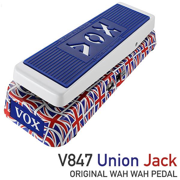 【限定1台】VOX(ヴォックス) / V847 Union Jack  (限定品) V847-A-UJ - ワウペダル - 『セール』『ギター』