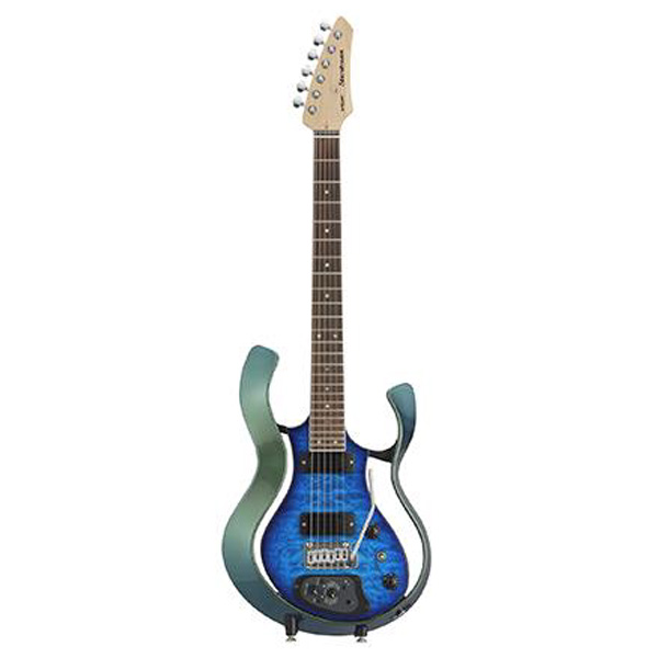 VOX(ヴォックス) / Starstream Type 1-24 with DiMarzio (VSS-1-24MGTL-Q / Metallic Green Frame with Trans Blue Quilted Maple Top) - エレキギター / モデリングギター -