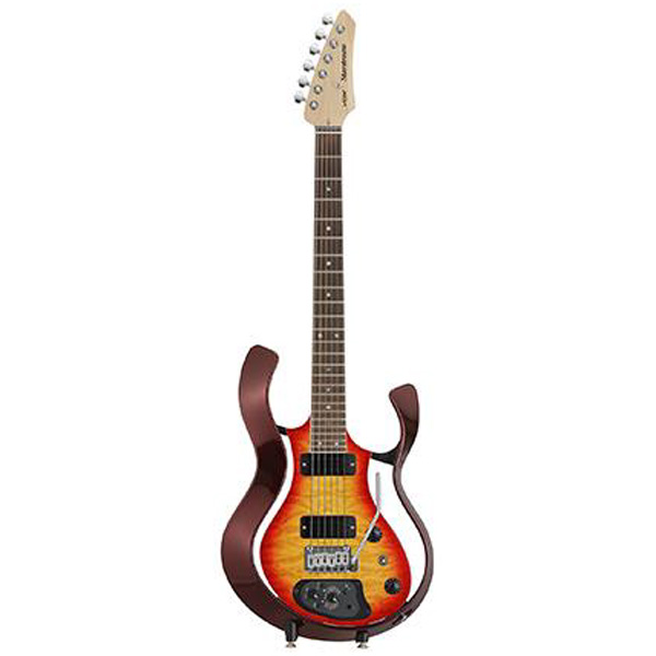 VOX(ヴォックス) / Starstream Type 1-24 with DiMarzio (VSS-1-24MWRCB-Q / Metallic Wine Red Frame with Cherry Burst Quilted Maple Top) - エレキギター / モデリングギター -