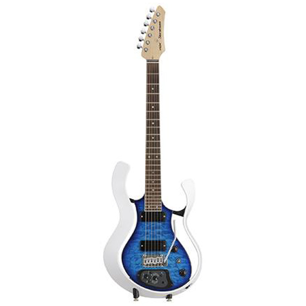 VOX(ヴォックス) / Starstream Type 1-24 with DiMarzio (VSS-1-24MWTL-Q / Metallic White Frame with Trans Blue Quilted Maple Top) - エレキギター / モデリングギター -