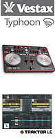 Vestax(�x�X�^�b�N�X) / Typhoon(�^�C�t�[��) - Windows�Ή� -�@�yTraktor LE�o���h���z