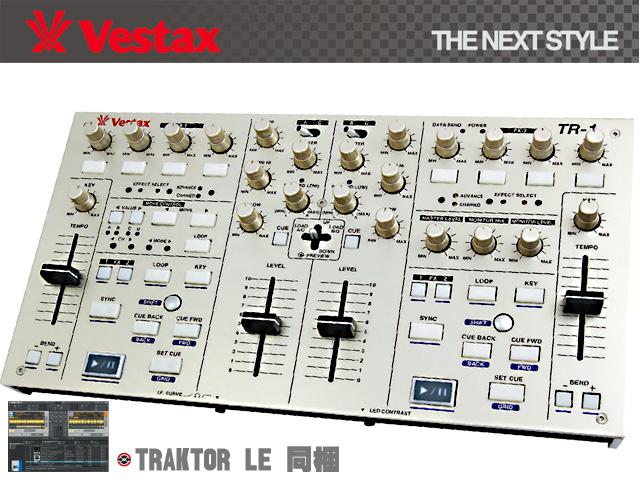 Vestax(�٥����å���) / TR-1 ��TRAKTOR LE��°�ۡ������ꥻ�å����Ƣ������ڡ��ߥå���CD����KIT������§DVD�������쥯�ȥ�ϥ������ͥ�����DJɬ��CD �ס�1��ɡ�