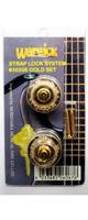 �ڸ���1���Warwick(������å�) STRAP LOCK SYSTEM GOLD ��å��ԥ�إ�����١ص�ѥå������١إѥå����������ߡ�