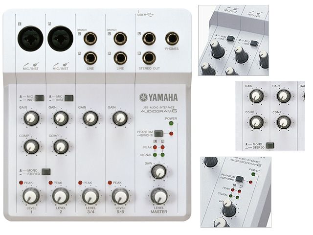 YAMAHA(��ޥ�) / AUDIOGRAM6 - �����ǥ����������ե�����  -�������ꥻ�å����Ƣ������ڡ��إåɥۥ�(OV-X8)����
