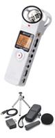 Zoom(ズーム) / H1(ホワイト) と APH-1セット販売 - ハンディレコーダー -