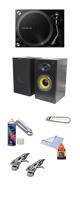 【サマーセット】PLX-500-K リスニングセット ■限定セット内容■→ 【・音質抜群タンテ Pioneer DJ PLX-500 徹底解剖(※サービス品ではありません) ・クリーニングセット ・OAタップ ・MS-210J モニター・スピーカー ・1分理解rekordbox DJクイックガイド 】