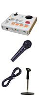 【お手軽放送セット】Tascam(タスカム ) / MiNiSTUDIO PERSONAL US-32 USB Audio Interface - オーディオインターフェース - 【8月上旬発売】 ■限定セット内容■→ 【 ・ケーブル付きマイク ・マイクスタンド 】