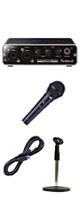 【手軽に宅録セット】Roland(ローランド) / DUO-CAPTURE EX (UA-22) USB Audio Interface - オーディオインターフェース - ■限定セット内容■→ 【 ・ケーブル付きマイク ・マイクスタンド 】