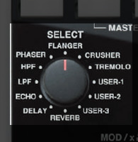 Vestax(ベスタックス) / VFX-1 [エフェクトコントローラー] FX MIDI CONTROLLER