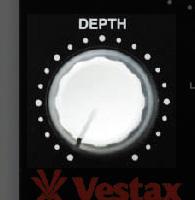 Vestax(ベスタックス) / VFX-1 [エフェクトコントローラー] FX MIDI CONTROLLERの画像です。