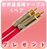 【P】Beldenケーブル 1ペアプレゼント!!※Pioneer商品用