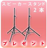 【P】スピーカースタンド2本組みESS-3302
