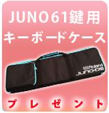 【P】JUNO-DSW61鍵専用ケースプレゼント