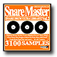 WAVELINEサンプリングCD / Snare Master Vol.2/SNARE DRUM ULTRA LIBRARY
