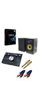 【DTM初心者セットA】 Cubase Pro 9 (アカデミック版) /M-TRACK 2x2M 3大特典セット